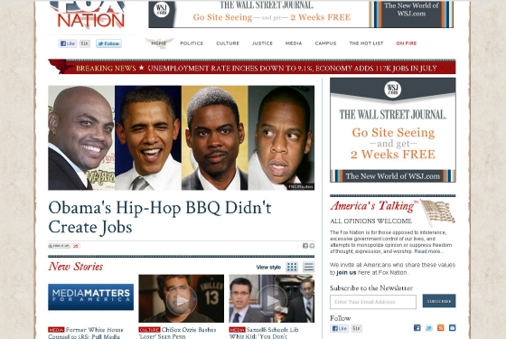 Fox Nation: Obama's Hip-Hop BBQ